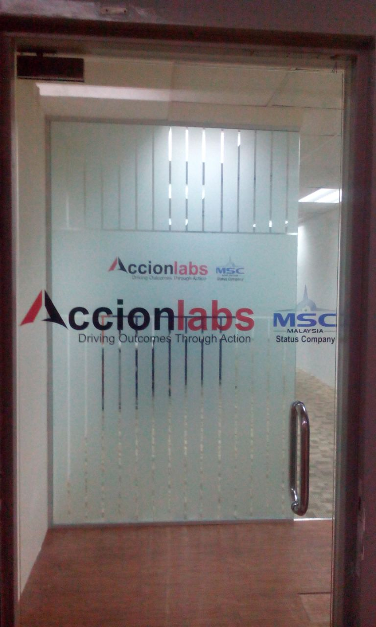 Office Door Window Decals