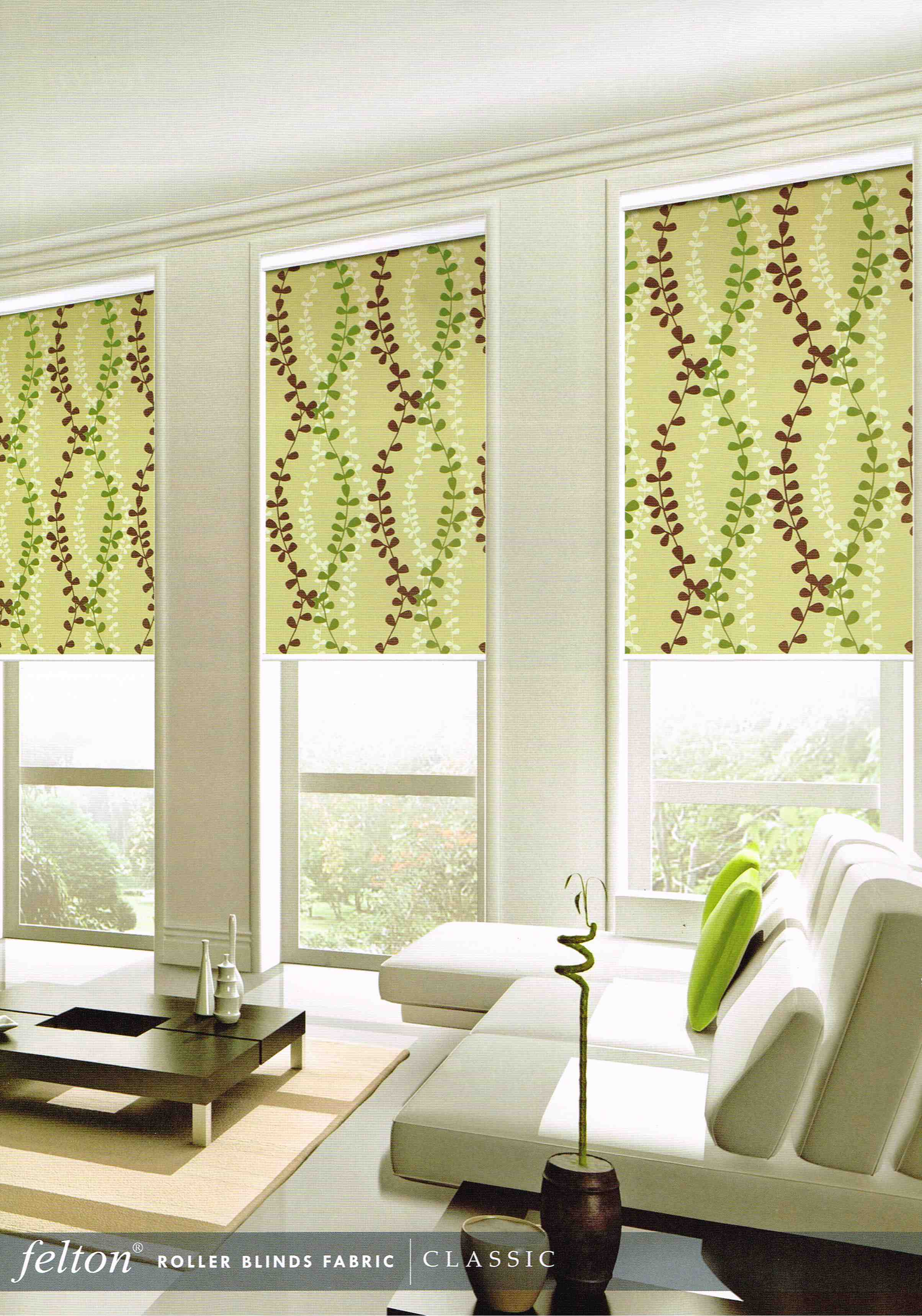 Roller Blinds Colourful Fabric Af07
